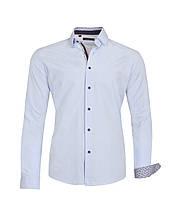 Рубашка мужская Karol Голубая