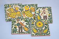 Косівська кераміка, кахель, фото 1