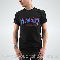 Футболка мужская с принтом Thrasher | Живые фото | Бирки ориг
