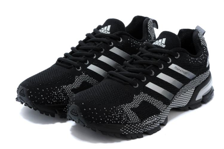 3ec2600a Adidas Marathon TR 15 Black | кроссовки женские, спортивные беговые ( кроссовки для бега)