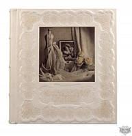 Свадебный фотоальбом из кожи Арт Кажан 720-50-30