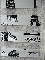 """Жалюзи """"ДЕНЬ-НОЧЬ"""", ш. 100 см. в. 100 см. (тканевые ролеты), открытого типа - Besta mini.  PARIS S., фото 1"""