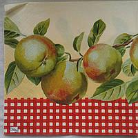 """Салфетка для декупажа """"Яблоки"""", 33х33 см, 10"""