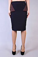 Юбка Шанелька Вставка, прямая юбка, жіноча спідниця жіноча, фото 1