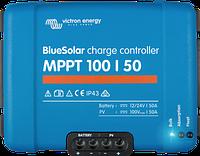 Контроллер заряда Victron Energy SmartSolar MPPT 100/50 - Tr (50A, 12/24В), фото 1