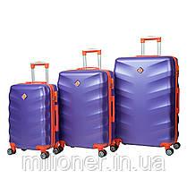 Чемодан Bonro Next (большой) фиолетовый, фото 3