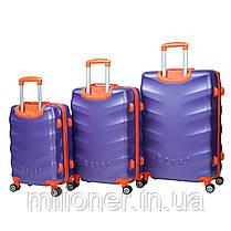 Чемодан Bonro Next (большой) фиолетовый, фото 2