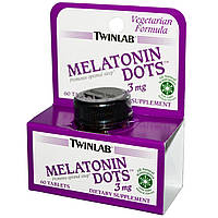 Twinlab Melatonin Dots 3 mg 60 tabs