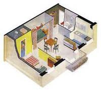 Генеральная уборка 1 комнатная (до 50 м.кв.)