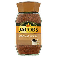Jacobs Cronat Gold кофе растворимый, 200 г