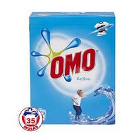 OMO Active порошок для стирки универс. (35 стирок), 2,45 кг