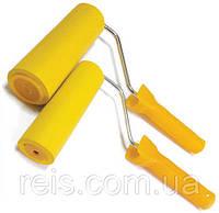 Валик прижимной, резиновий 8х180 мм Httools с ручкой