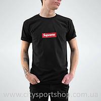 Футболка Supreme box logo. Черная мужская. Реальные фотки. Все размеры Качество бомба