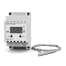Терморегулятор для высоких температур, диапазон от -70°C до 500°C, нагрузка до 10А (2кВт)