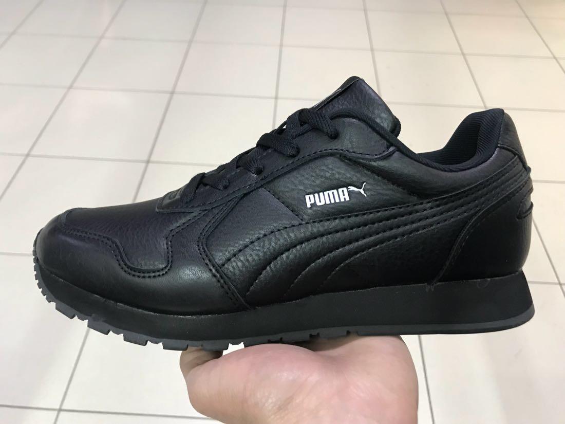 3fd6b14c6 кожаные мужские кроссовки Puma черные продажа цена в днепре