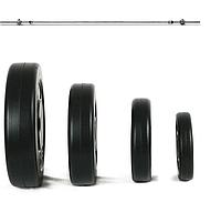 Лавка HS1055 + Штанга 50 кг.