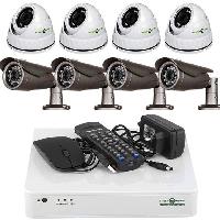 Комплект видеонаблюдения на 8 камер Green Vision GV-K-L07/08 720Р
