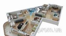Генеральная уборка 3 комнатная (до 90 м.кв.)