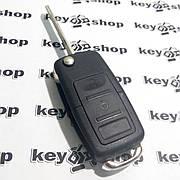 Корпус выкидного ключа для VOLKSWAGEN  (Фольксваген) 2-3 кнопки