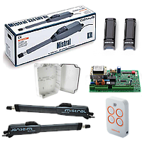FAAC GENIUS MISTRAL 300 LS — автоматика для распашных ворот ( створка до 3м )