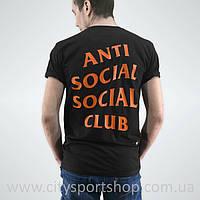 Футболка ASSC Undefeated Paranoid. Бирка Anti Social Social Club