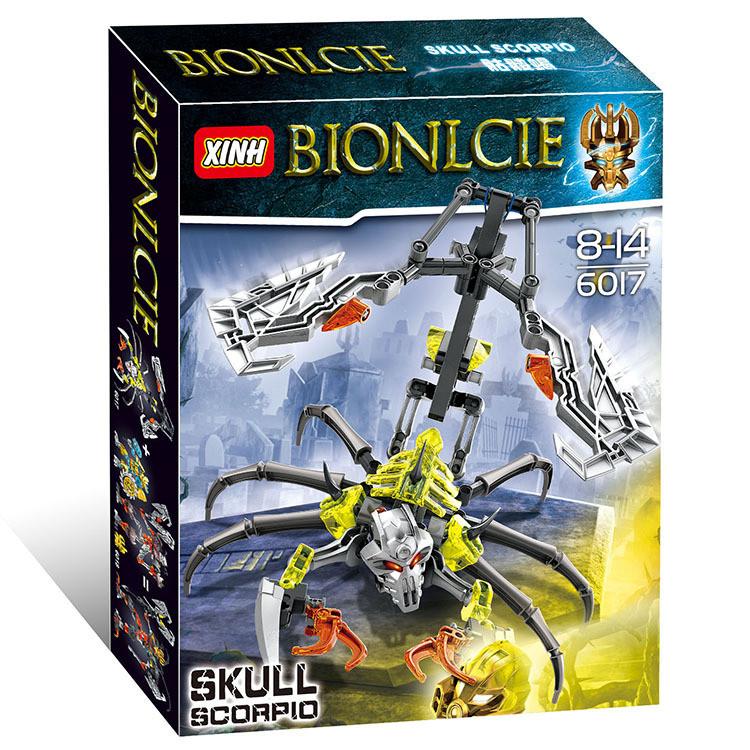 """Конструктор Bionicle 6017 """"Боевой скорпион"""""""