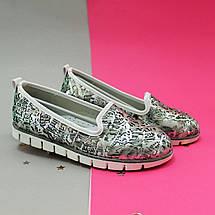 Детские туфли балетки для девочки цветочный принт Tom.m размер 35, фото 3