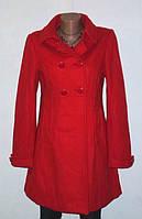 Красное Роскошное Шерстяное Пальто от H&M Размер: 42-S