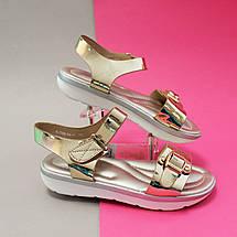 Нарядные Босоножки с золотом для девочек Tom.m размер 36, фото 2
