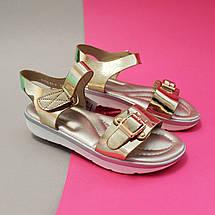 Нарядные Босоножки с золотом для девочек Tom.m размер 36, фото 3