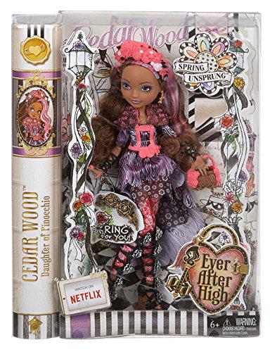 Ever After High Spring Unsprung Cedar Wood Doll Кукла Эвер Афтер Хай Сидар Вуд Неудержимая весна
