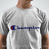 Champion Футболка мужская • Бирка оригинальная •  Серая