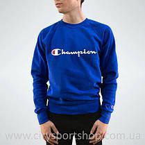 Champion свитшот синий • Женский и мужской • Бирки и Живые фотки (Размер М), фото 2