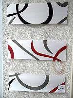 """Жалюзи """"ДЕНЬ-НОЧЬ"""", ш. 100 см. в. 100 см. (тканевые ролеты), открытого типа - Besta mini. RILLA., фото 1"""