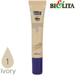 Bielita - Luxury Консилер против темных кругов 15ml Тон 01 слоновая кость