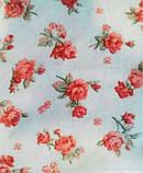 Занавески батистовые с фиранкой Red Rose 250х200, фото 3