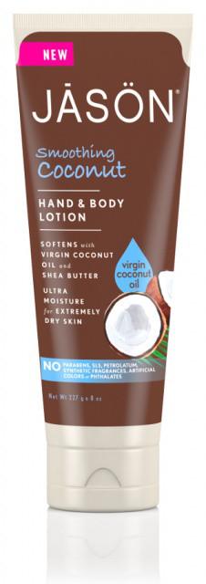 Заспокійливий шкіру лосьйон для рук і тіла «Кокос» *Jason (США)*