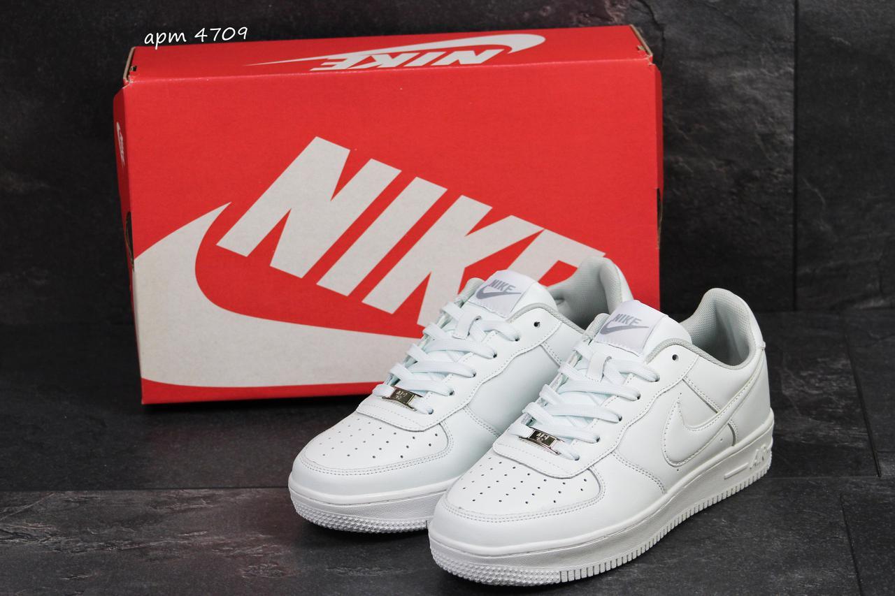 0fb19827 низкие кроссовки Nike Air Force мужские белые реплика цена 740