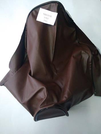 Чохол сидіння YAMAHA JOG VINO 5AU (коричневий), фото 2