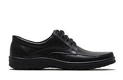 Мужские кожаные туфли больших размеров 46,47,48 на шнурке  46