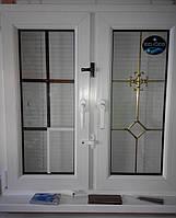 Противовзломный замок для металлопластиковых окон и дверей с кнопкой. белый.