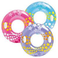 "Надувной круг Intex 59256  ""Звёзды"""