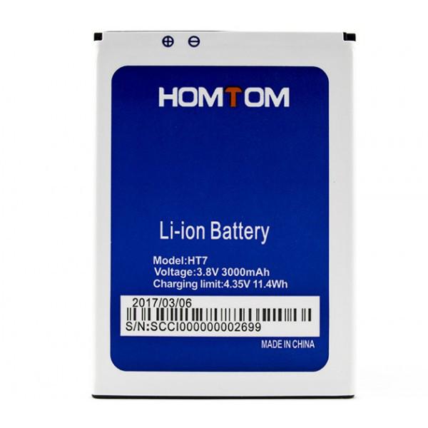 Аккумулятор Doogee Homtom HT7 / HT7 Pro, 3000mAh