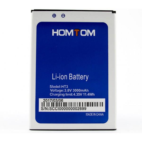 Аккумулятор Doogee Homtom HT3 / HT3 Pro, 3000mAh