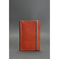 Кожаная обложка для паспорта 2.0 Коньяк