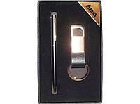 PN1-45 Подарочный набор APONS: ручка + брелок, Сувенирный набор, Набор в подарочной упаковке, Деловой подарок