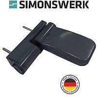 Петля дверная Simonswerk Siku 3135 антрацит RaL7016 (Германия), фото 1