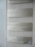 """Жалюзи """"ДЕНЬ-НОЧЬ"""", ш. 100 см. в. 100 см. (тканевые ролеты), открытого типа - Besta mini. JAKAR., фото 1"""