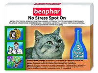 Beaphar NO STRESS spot on 3пипетки - капли от стресса для кошек (13913)