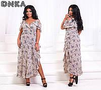 Красивое летние платье 219 (50,52,54,56)